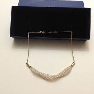 SWAROVSKI STARDUST SHORT TWIST NECKLACE